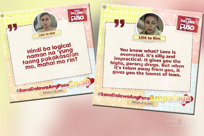 Trending Quotes of Lisa in Sana Dalawa Ang Puso