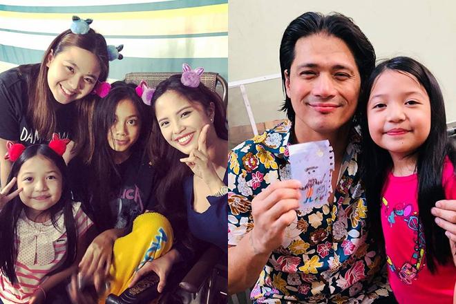 LOOK: The happy Tabayoyong family on the set of Sana Dalawa Ang Puso