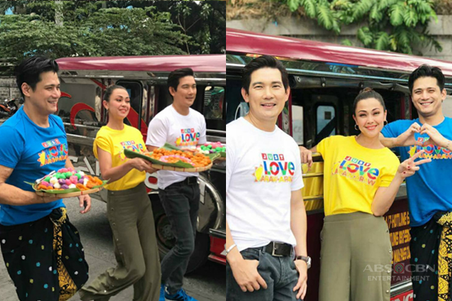 PHOTOS: Just Love Araw Araw with the cast of Sana Dalawa Ang Puso