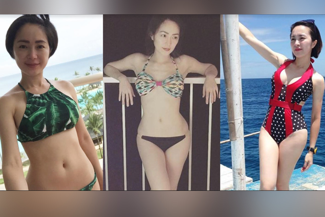24 times Kitkat aka Sana Dalawa Ang Puso's Leb showed off her perfect curves!