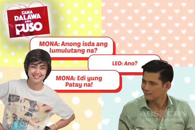Leo and Mona share good vibes through witty jokes in Sana Dalawa Ang Puso