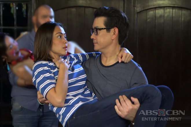 OMG! Mona and Martin's most kilig moment ever!