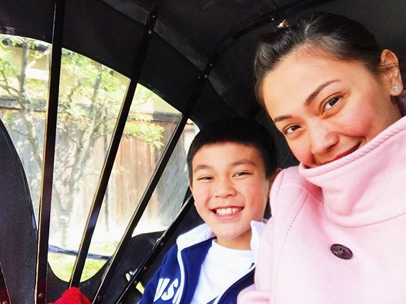 LOOK: Jodi Sta Maria with her adorable little man