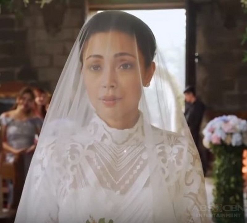 HERE COMES THE BRIDE! The beautiful transformation of Mona as Lisa