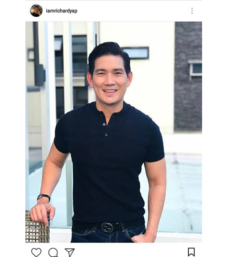 Aging backwards? 11 times Richard Yap flaunts his 'Dad Bod' and it's HOT!
