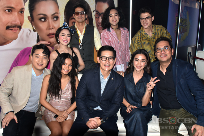 PHOTOS: The cast of Sana Dalawa Ang Puso at the ABS-CBN Trade Event : The Frontrow Experience