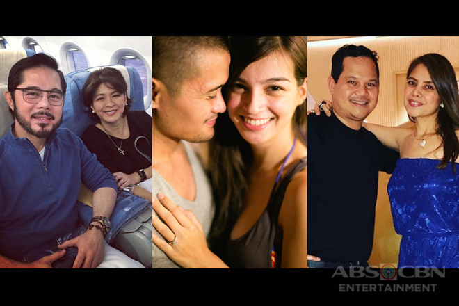 "The cast of 'Sana Dalawa Ang Puso' with their real life ""Sharamdara"""