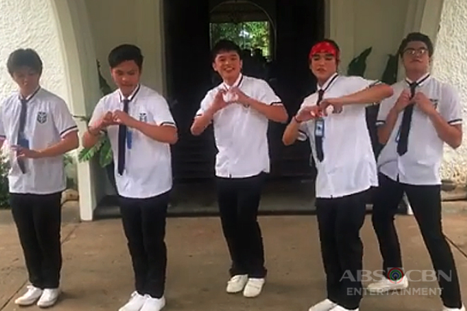 WATCH: The boys of Sana Dalawa Ang Puso do the #InMyFeelings dance challenge